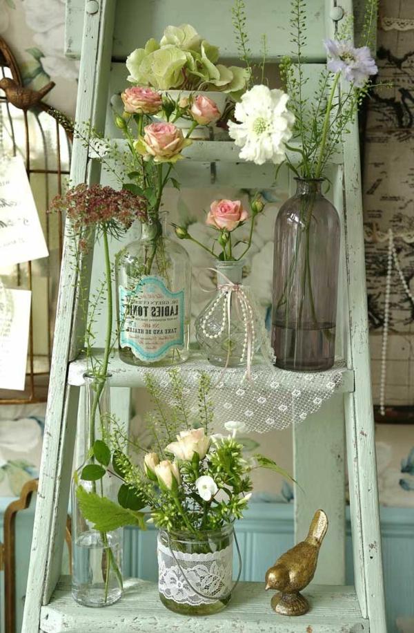 jardin-étagère-échelle-vert-fleures