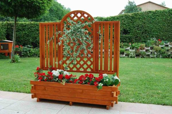 jardinière-avec-treillis-design-magnifique-en-bois