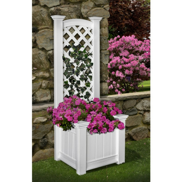 jardinière-avec-treillis-fleurs-roses-splendides