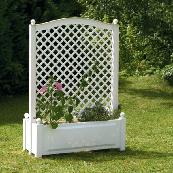 jardinière-avec-treillis-idées-superbes-pour-l'extérieur