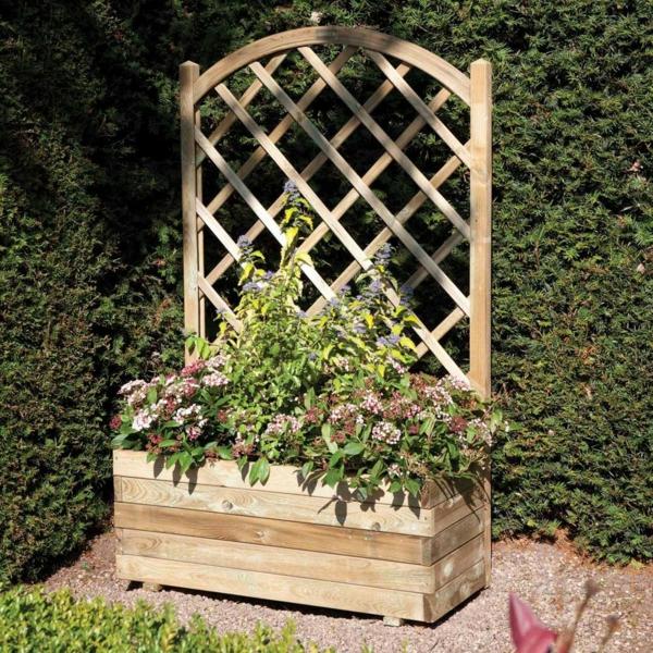 jardinière-avec-treillis-pot-de-fleur-et-treillis-en-bois