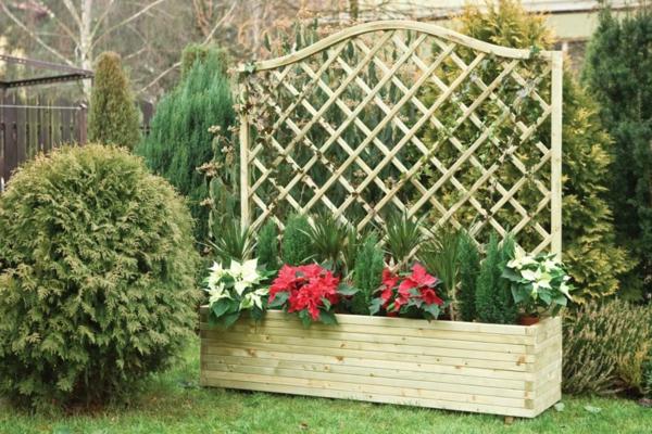 jardinière-avec-treillis-pot-de-fleur-rectangulaire-treillis-en-bois