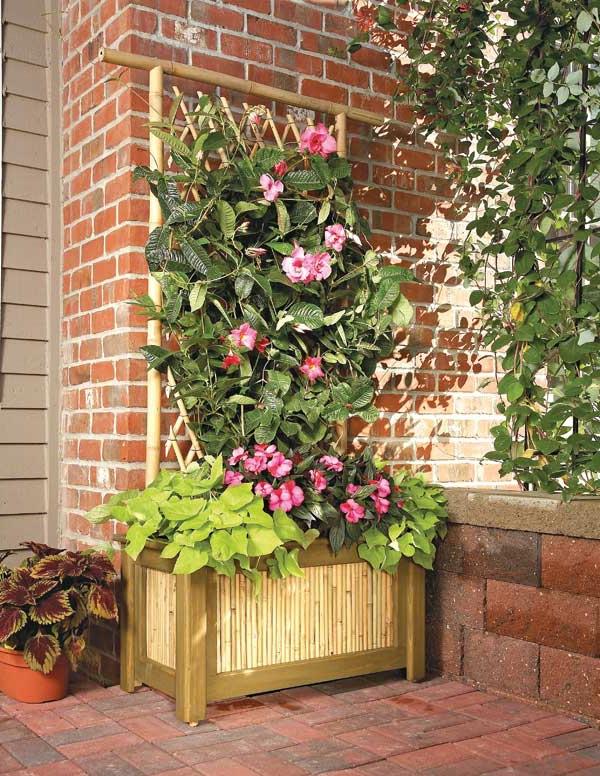 jardinière-avec-treillis-rectangulaire