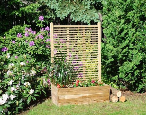 jardinière-avec-treillis-treillis-horizontal