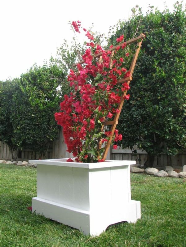 Jardiniere avec treillis bois top jardinire avec claustra - Jardiniere avec treillis pvc ...