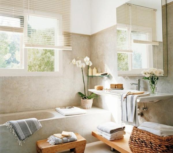 jolie-Salle-de-bain-beihge-minimaliste-douche-équipée-resized