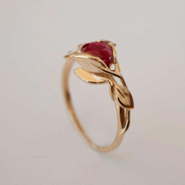 jolie-bijou-bague-rubis-rouge-accessoire