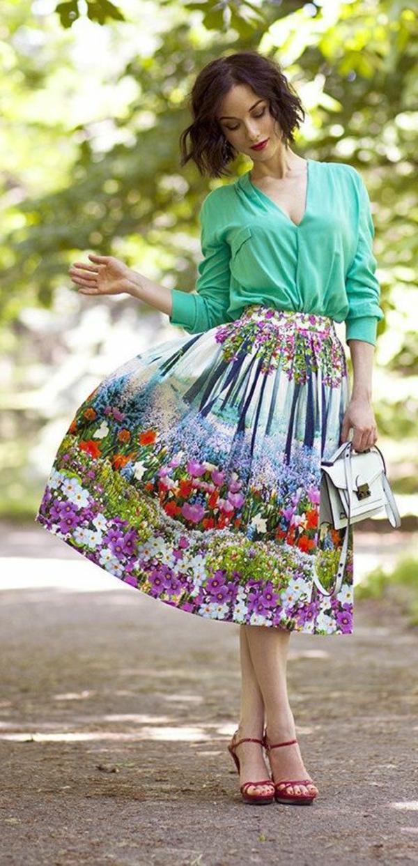 jupe-corolle-une-jupe-florale-magnifique