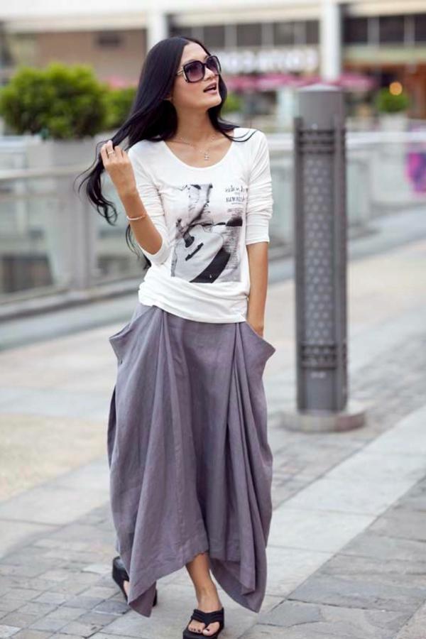 jupe-longue-gris