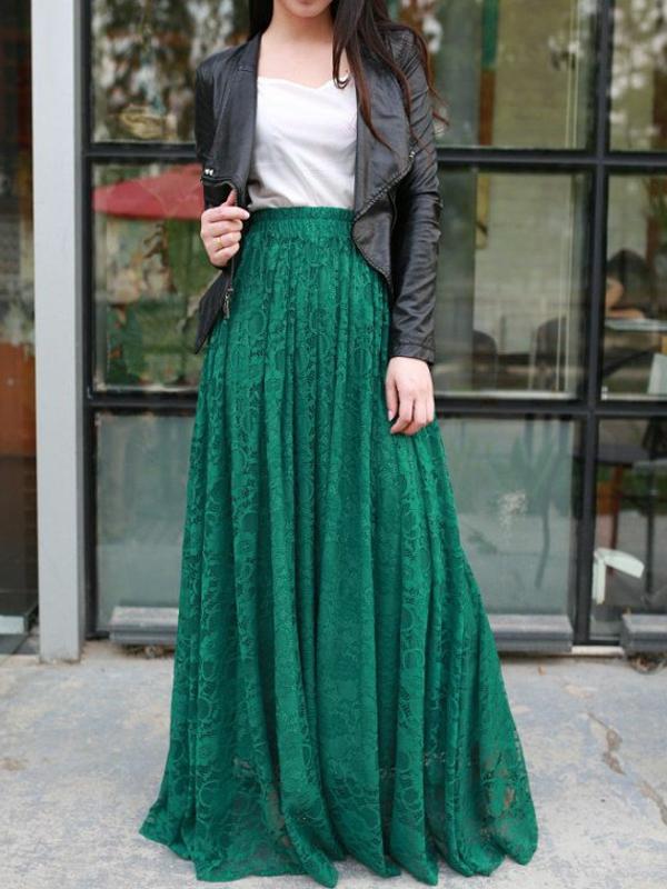 jupe-mode-vert