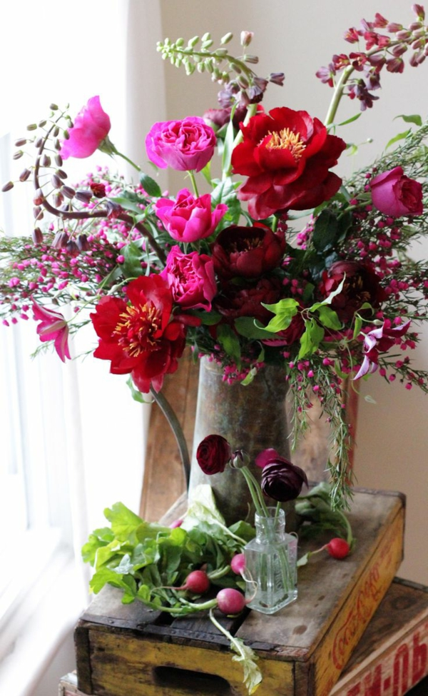 la-décoration-de-votre-salon-avec-combination-florale