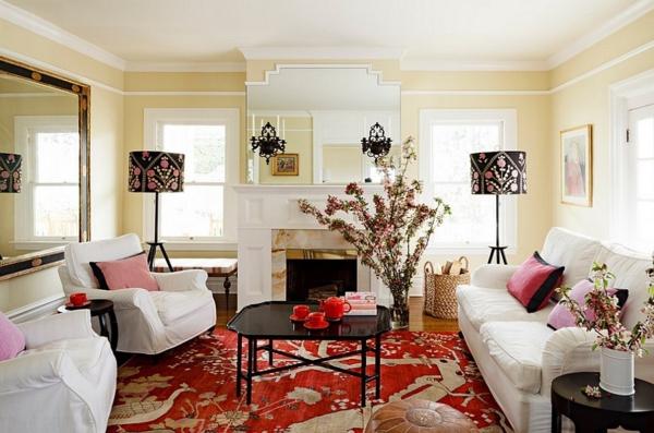 lampadaire-tripode-deux-lampes-tripodes-originales-dans-une-salle-de-séjour