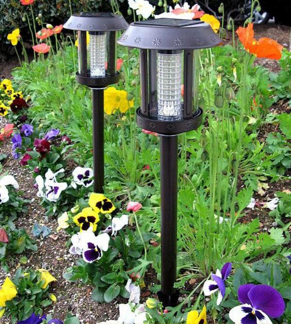 lampes-solaires-de-jardin-décoration-magnifique