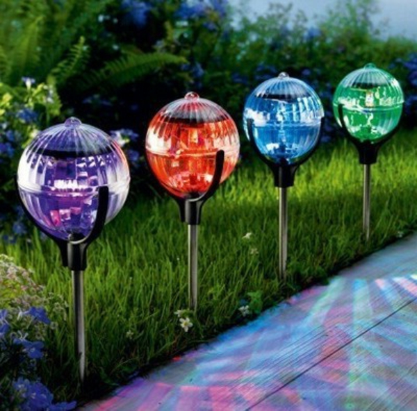 deco jardin lampe solaire