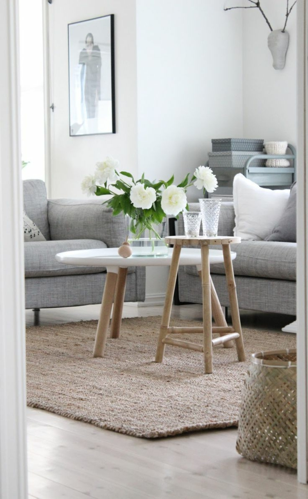 ldécoration-de- salon-avec-combination-florale