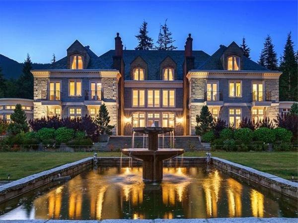 les-plus-belles-maison-extérieur-jardin-fountain