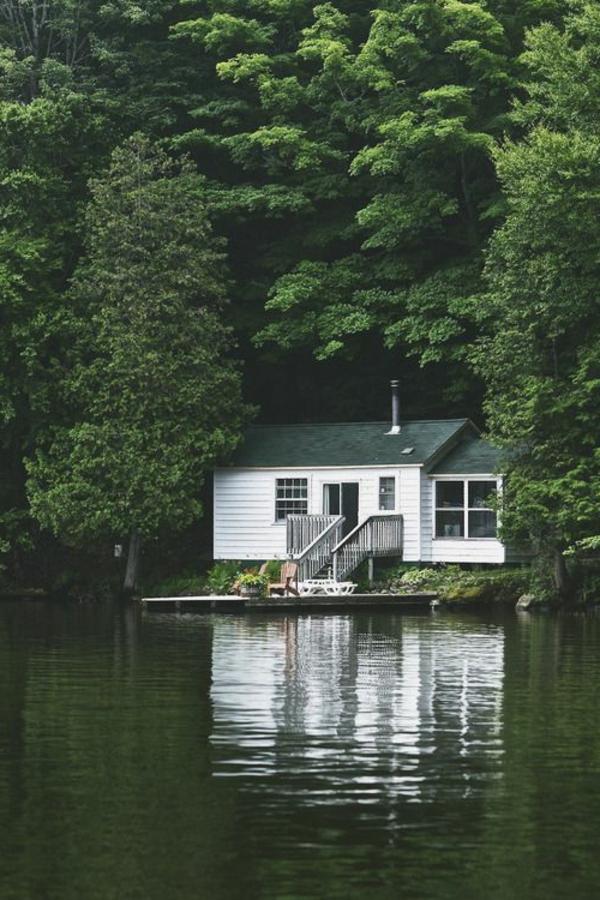 Chambre Verte Zen : Les plus belles maisons du monde