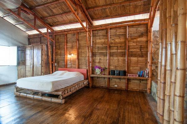 lit-en-bambou-chambres-à-coucher-originales