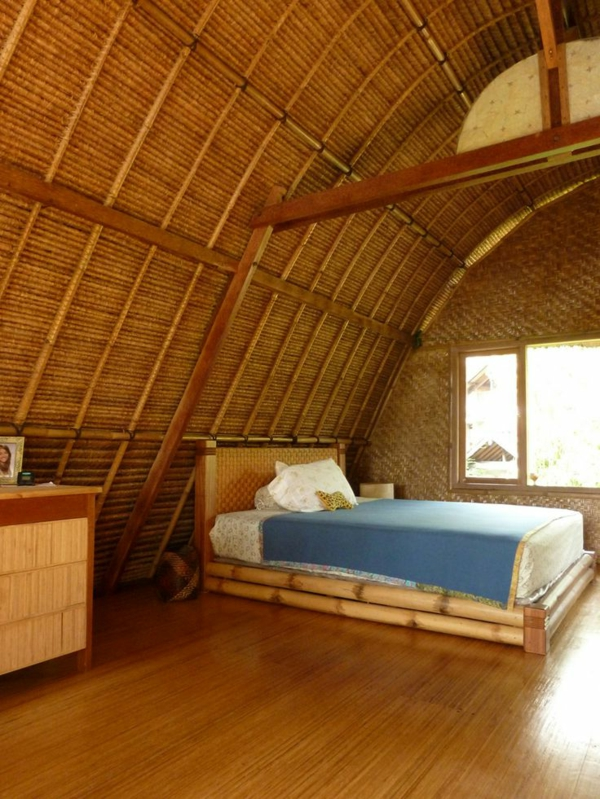 le lit en bambou authenticit et touche zen. Black Bedroom Furniture Sets. Home Design Ideas