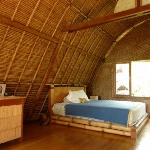 Le lit en bambou - authenticité et touche zen