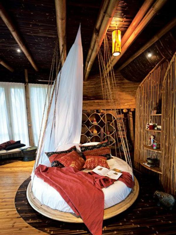 affordable with lit rond suspendu. Black Bedroom Furniture Sets. Home Design Ideas
