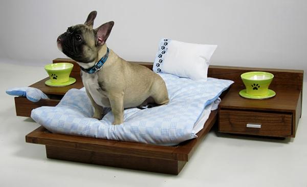 le lit pour chien n cessaire et amusant. Black Bedroom Furniture Sets. Home Design Ideas