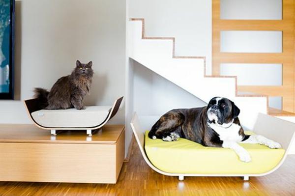 lit pour chien, mobilier moderne pour chats et chiens