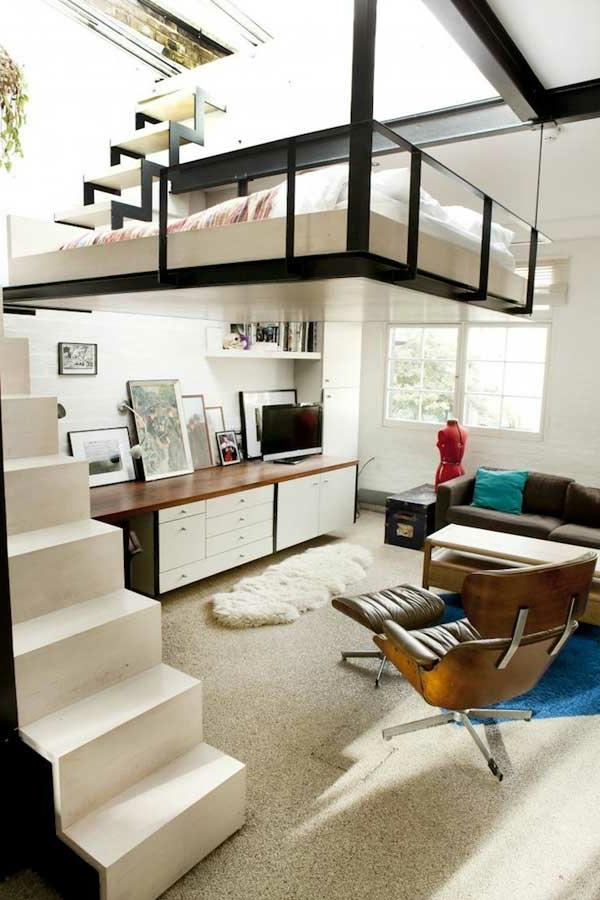 lit suspendu,un lit moderne phénoménal, designs pour loptimisation ...