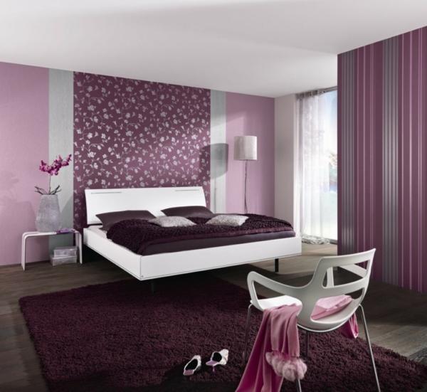 lit-suspendu-chambre-à-coucher-féminine