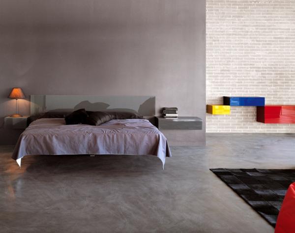 lit-suspendu-design-minimaliste-intérieur-moderne