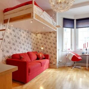 Le lit suspendu - designs créatifs et incroyables