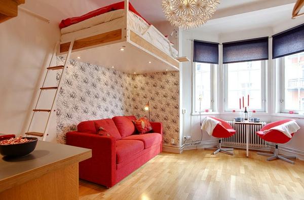 Le lit suspendu designs cr atifs et incroyables - Lit mezzanine suspendu ...