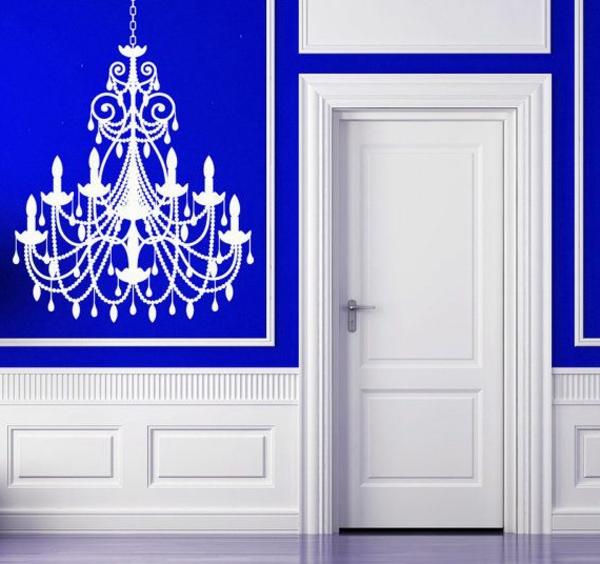 lustre-sticke-sur-le-mur-bleu-blanc-inspiration