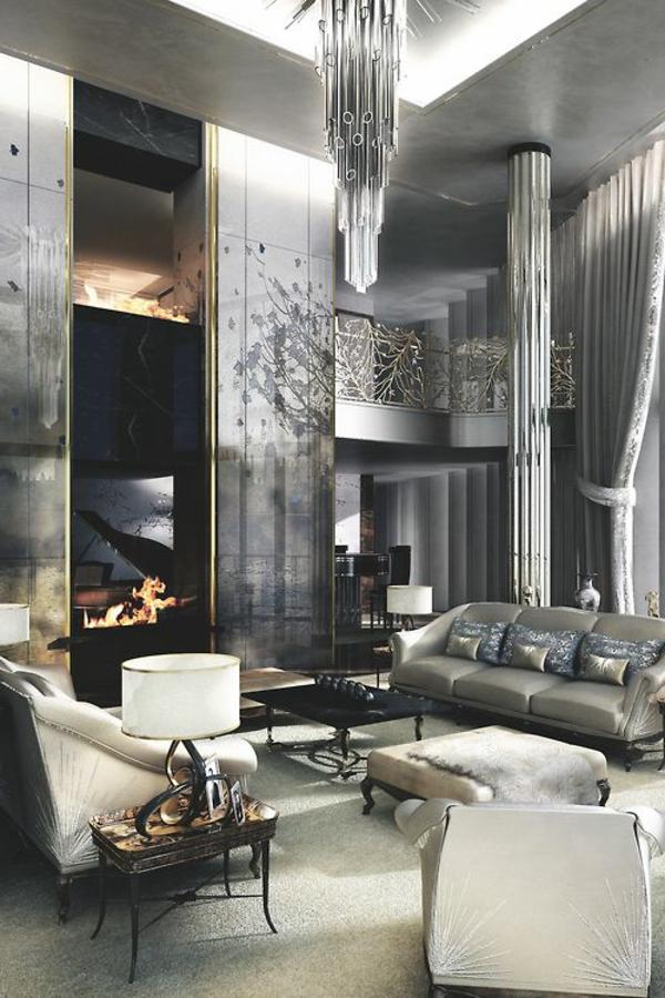 luxe-maison-cheminée