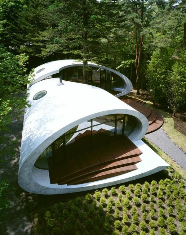 maison-organique-dans-le-forêt