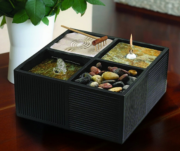 Le mini jardin zen d coration et th rapie for Jardin zen mini