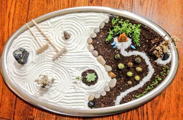 mini-jardin-zen-rond-idées-créatives-et-amusantes