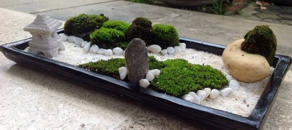 Le mini jardin zen d coration et th rapie for Decoration jardin japonais