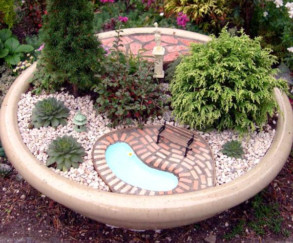 Le mini jardin zen d coration et th rapie - Creer un mini jardin japonais ...