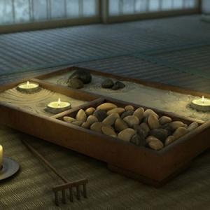 Le mini jardin zen - décoration et thérapie