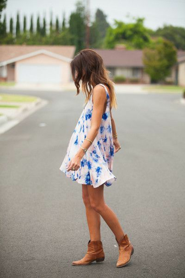 mode-comment-porter-la-robe-trapèze-robe-flottante