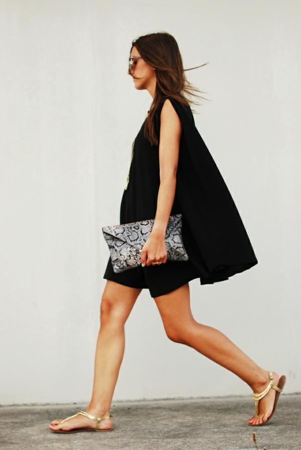 mode-ootd-tenue-du-jour-robe-noire-été-2015