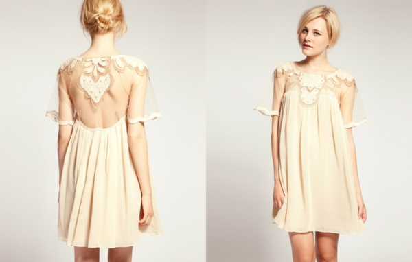 Robe blanche dentelle vintage la mode des robes de france - Robe blanche vintage ...