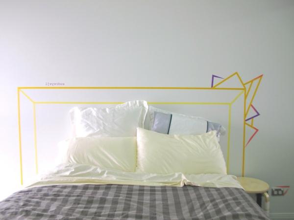 mur-fabuleuse-détaions-décoration-gris-et-jaune-déco-de-mur-sticker-mural