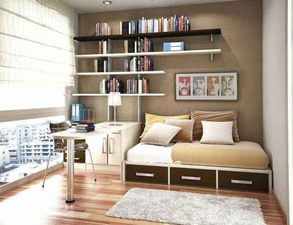 idee amenagement petite chambre ado avec des id es int ressantes pour la. Black Bedroom Furniture Sets. Home Design Ideas