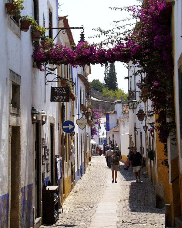 obidos-petite-rue-ambiance-méditeranienne-resized