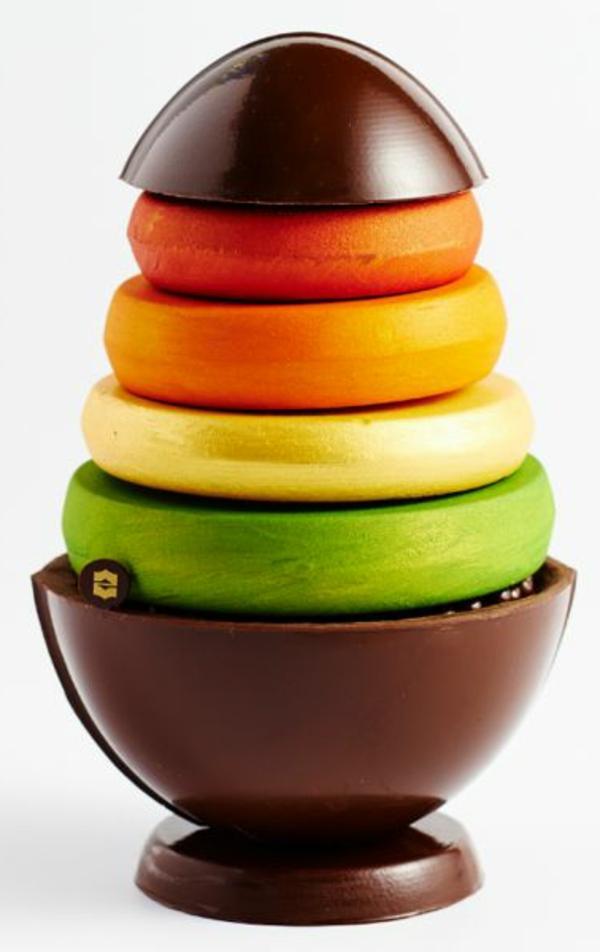 oeufs-en-chocolat-pour-célébrer-les-Paques