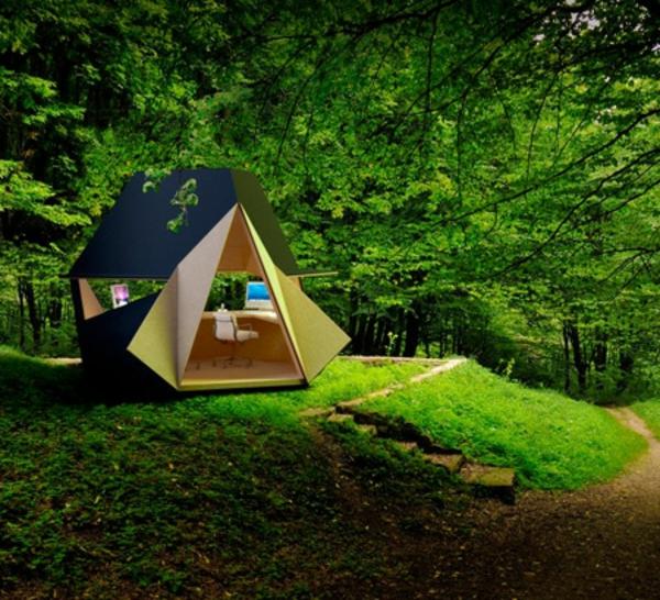 Office modulaire de jardin designs curieux for Architecture de jardin