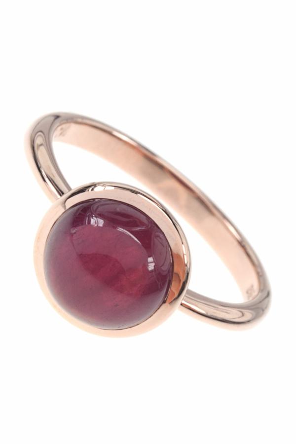 or-rose-anneau-d'or-pierre-précieux-rouge