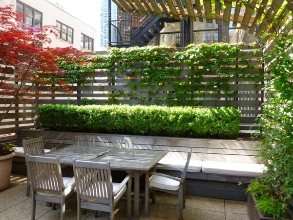 Choisissez un panneau occultant de jardin for Plante murale pas cher